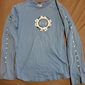 Roxy long sleeved shirt